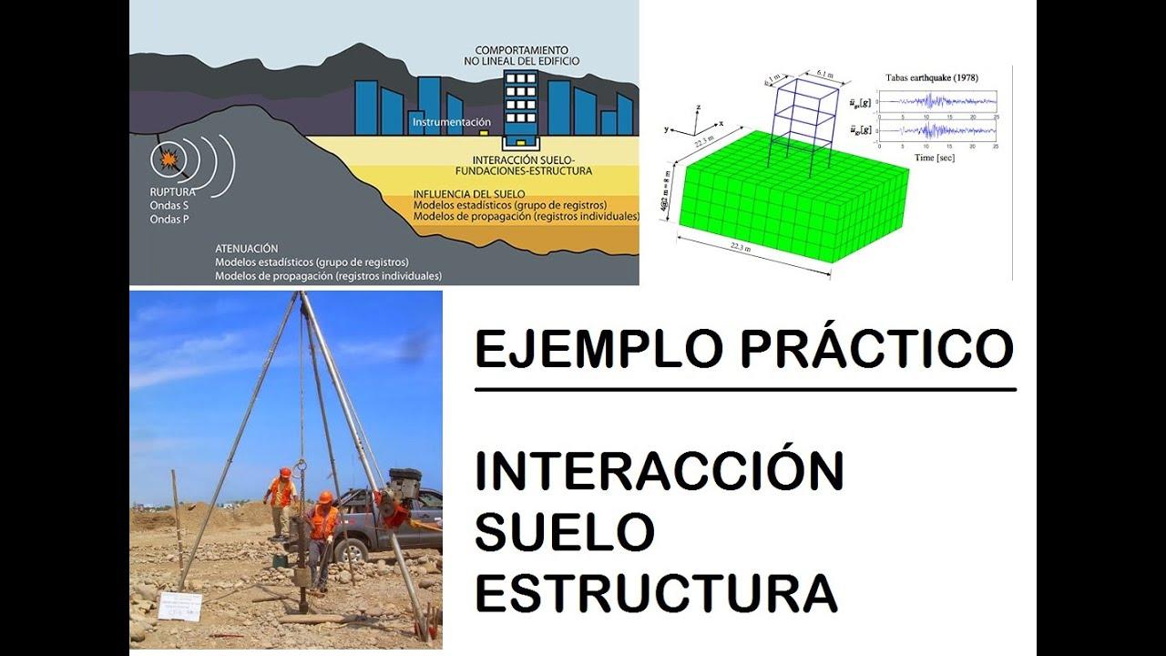 Ejemplo Práctico Interacción Suelo Estructura