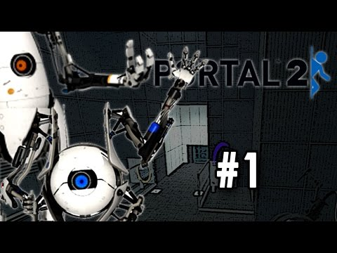 Let's Play Portal - 2 Co-Op [Part 1] [Team Building] [w/NastyLP]