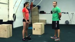 Кроссфит (CrossFit) соревнования. Стандарты выполнения движений во втором комплексе