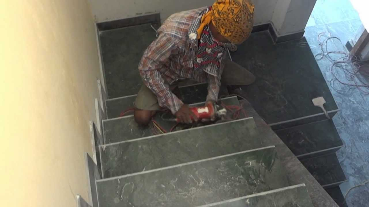 Marble Staircase Polishing