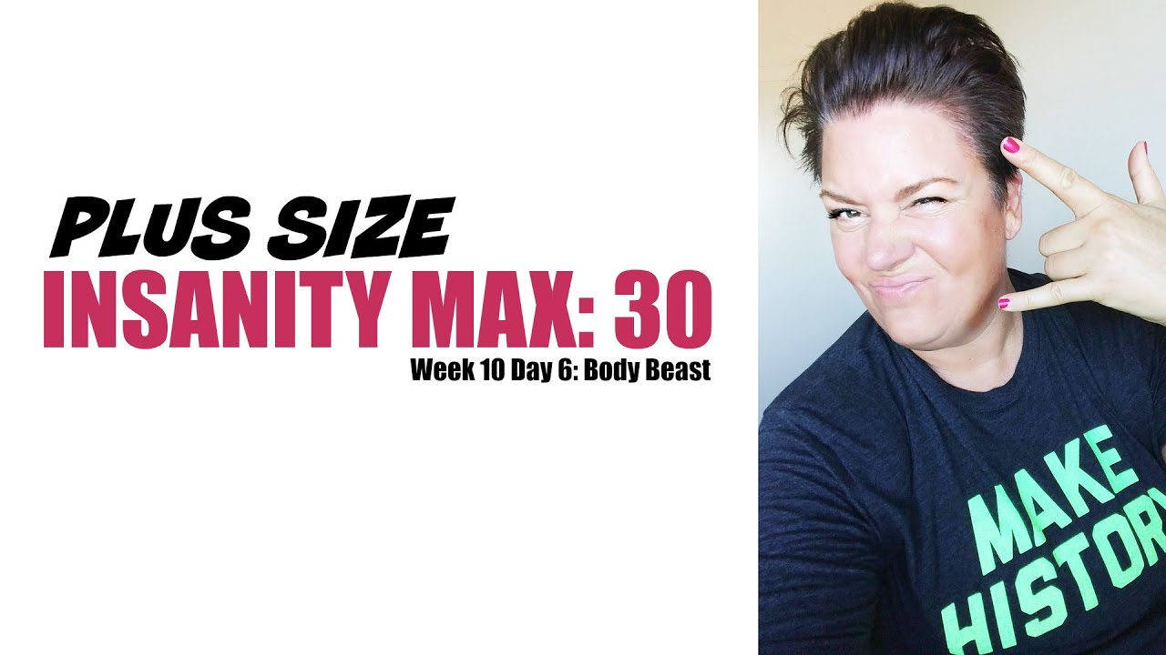 Plus size insanity max 30 after knee injury weight loss 7 youtube plus size insanity max 30 after knee injury weight loss 7 ccuart Images