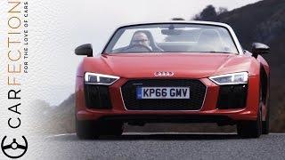 Audi R8 V10 Spyder: Topless Sounds So Good - Carfection