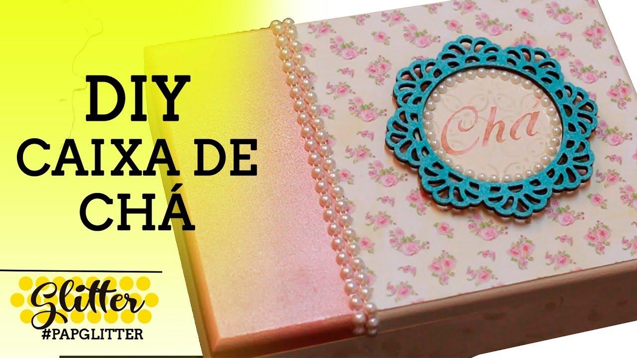 DIY | Caixa de Chá