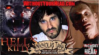 """Nicholas Tana creator of """"Hell's Kitty"""" interview - Without Your Head Horror Podcast"""