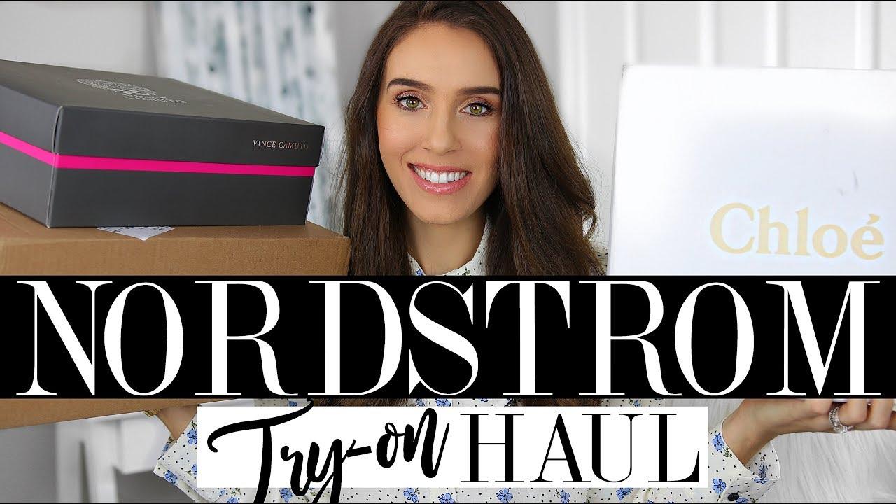 NORDSTROM TRY-ON HAUL & NEW CHLOE REVEAL!