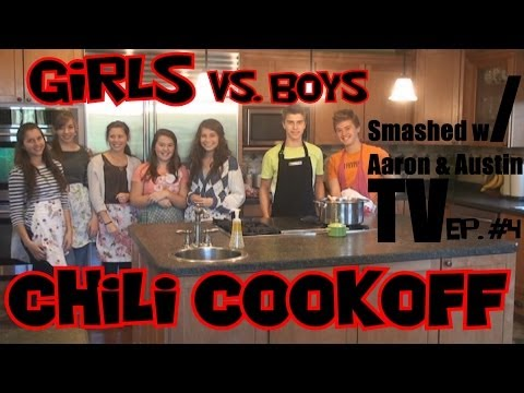 Smashed w/ Aaron & Austin Ep #4 (Chili cook off)