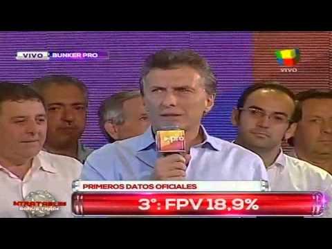 """Macri: """"Esto que ya comenzó no puede parar"""""""