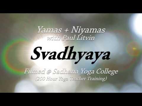 Svadhyaya - Yamas and Niyamas