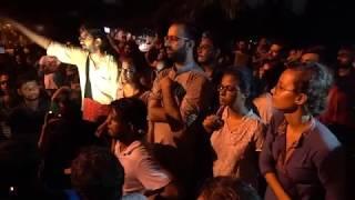 JNUSU Elections 2018 : Left Unity Presidential Candidate N. Sai Balaji addressing at Ganga Dhaba