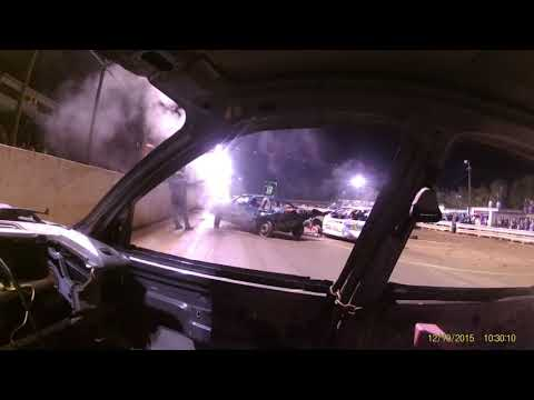 2017 Hagerstown Speedway demolition derby in car cam