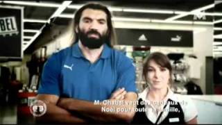 Sebastien Chabal French TV (M6) Feature