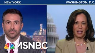 "Harris Goes In On Barr: Can't Do Job, He's ""Biased"" Toward Trump 