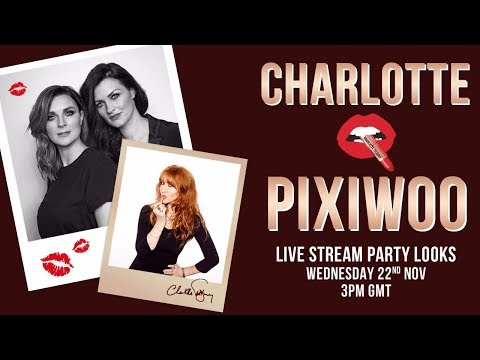 Join Charlotte Tilbury for the ultimate party look tutorial LIVE! ft. mystery special guests.