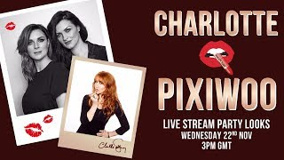 CHARLOTTE & PIXIWOO LIVE! Makeup magic and skincare secrets holiday party | Charlotte Tilbury