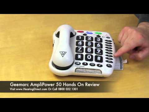 Geemarc AmpliPower 50 Hands On Review
