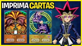 Como imprimir cartas de Yu-Gi-Oh!