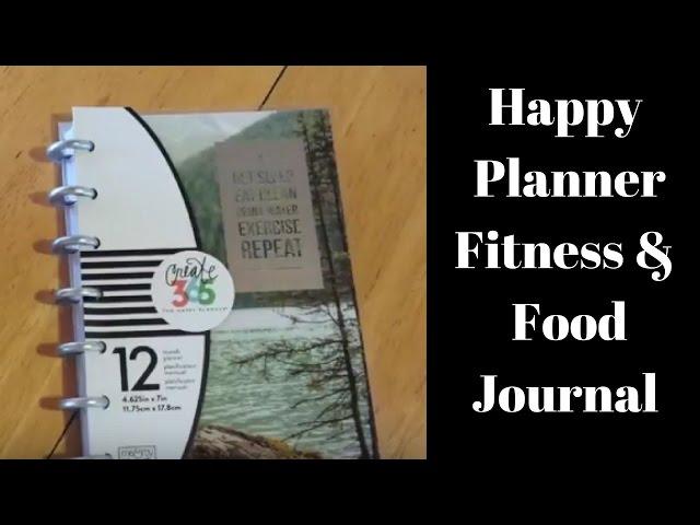 Planner Addict ||  Mini Happy Planner Fitness Food Journal