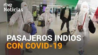 El 10% de los VIAJEROS de un vuelo que llega a ROMA desde INDIA da positivo por coronavirus  | RTVE