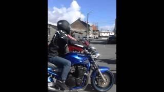 balade en moto pour Aurélie partie 2
