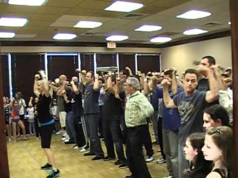 Dance Theatre Dancing Dads 2012 Heron Bay Studio (2nd Practice)