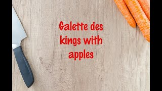 How to cook - Galette des kings with apples