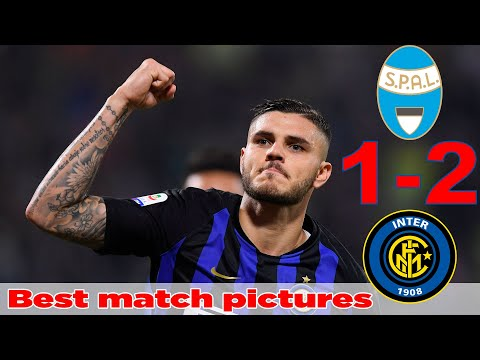 SPAL vs Inter Milan 1-2, Best match pictures - All Goals and Highlights Serie A 7/10/2018