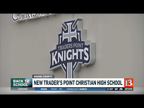 New Traders Point High School opens