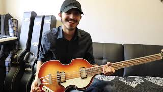 Unboxing- Review Hofner 500/1 Violin Bass