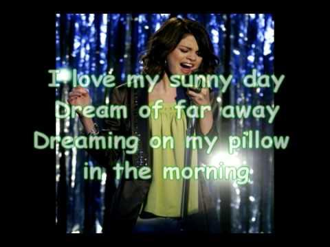 Selena Gomez - Magic (Lyrics) (Wizards of Waverly Place) (Full Length Song)