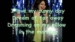 Selena Gomez - Magic (Lyrics) (Wizards of Waverly Place) (Full Length Song)