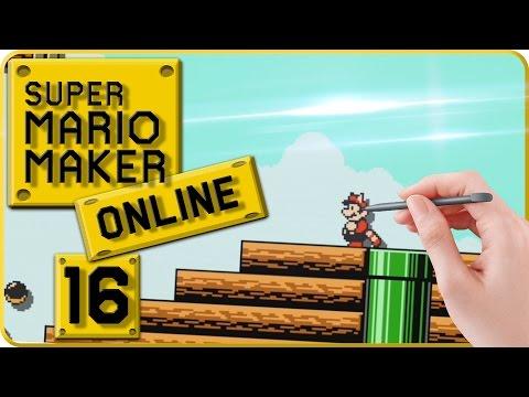 "Let's Play Super Mario Maker Online Part 16: Ich baue mein "" Random SMB3 Airship ""-Level!"