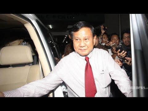 5 Nama Calon Wakil Presiden yang akan Dampingi Prabowo Subianto di Pilpres 2019