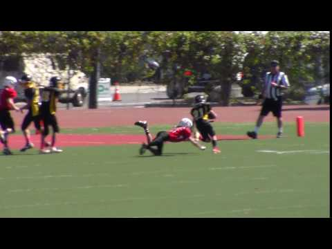 Aiden Heath vs Santa Barbara 2pt conversion