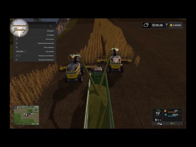 Let's Play Landwirtschafts Simulator 2017   Abfahren mit Chaos   Folge #026