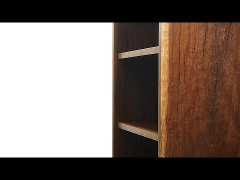 How To Make A Solid Wood Bookshelf/Bookcase | Woodworking