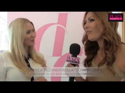 Blondinbella och Gunilla Pontén om skönhetsideal och naturlig skönhet på Stockholm Beauty Week