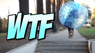 SKATING IN A HAMPSTER BALL VLOG - A DAY WITH NKA
