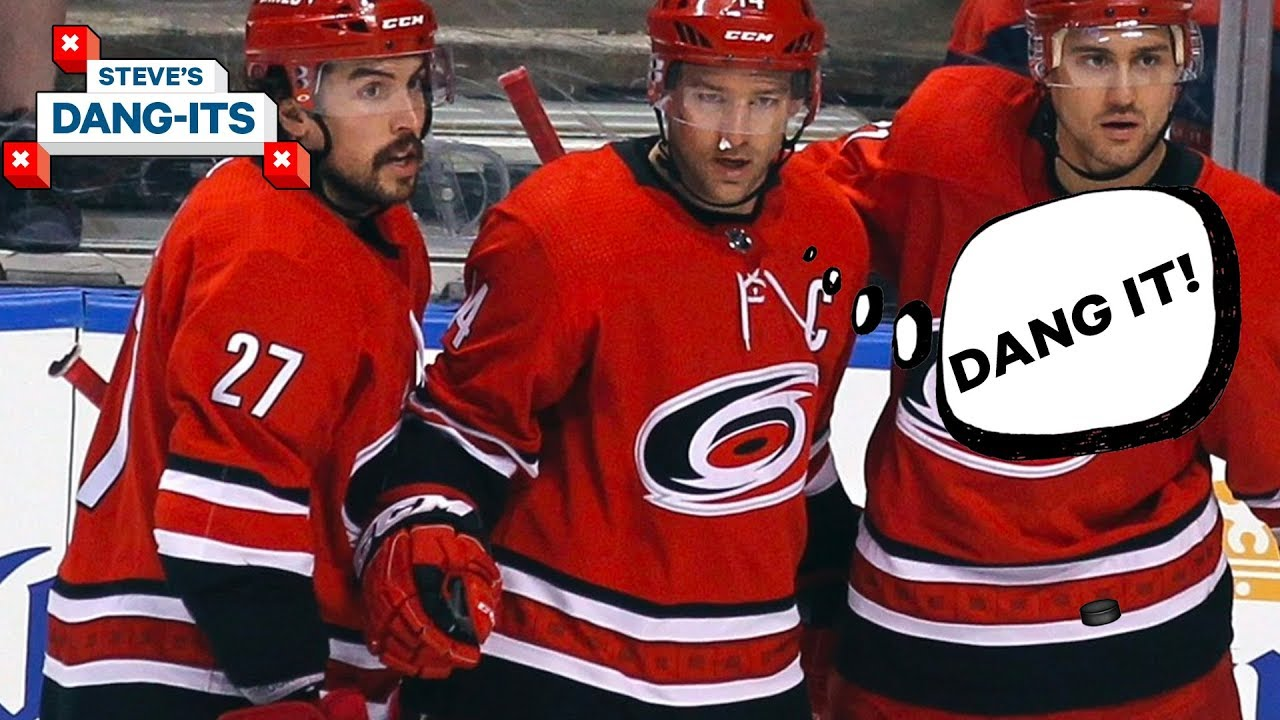 NHL Worst Plays of The Year - Day 9: Carolina Hurricanes Edition | Steve's Dang Its