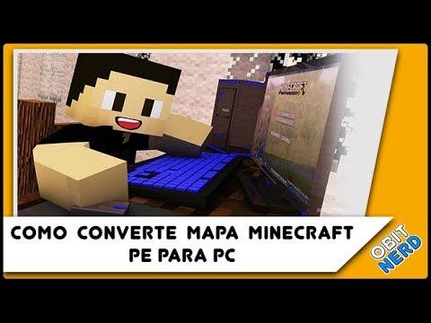 Como CONVERTER MAPAS de Minecraft PE para Minecraft PC