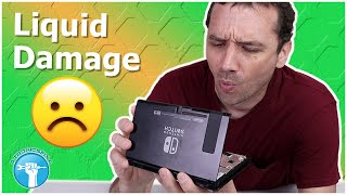 $70 Nintendo Switch - Can I Fix It?! BROKEN Switch from eBay