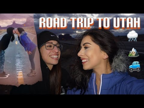 OUR FIRST VLOG: ROAD TRIP TO UTAH!