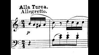 Mozart / Alicia de Larrocha: Rondo a la Turca, K. 331 - Hispavox, Late 1950s / Early 1960s