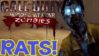 """SOULBOX EASTER EGG COMPLETE!"" - Custom Zombies ""RATS v2"" FINALE (CoD WaW Custom Zombies)"