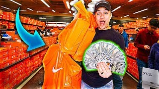BLACK FRIDAY NO BUDGET NIKE OUTLET CHALLENGE!!