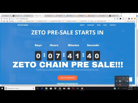 Zeto Chain Pre Sale this has 100X potential New Crypto Coin Overview