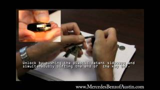 how to replace the battery in your mercedes benz smart key change batteries in key hd