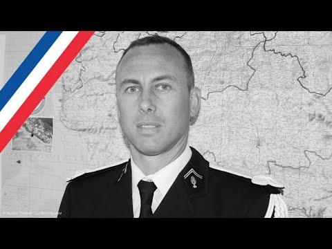موجة تعاطف كبيرة مع عائلة الضابط الفرنسي بلترام الذي ضحى بحياته لإنقاذ الآخرين  - نشر قبل 1 ساعة
