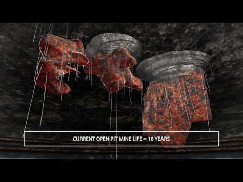 Mining Iron Ore Technical 3D Animation