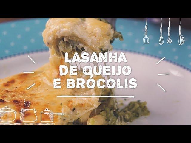 Lasanha de Queijo e Brócolis - Sabor com Carinho (Tijuca Alimentos)