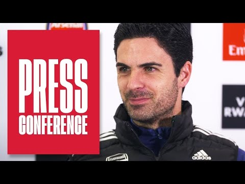 Mikel Arteta on the Super League, his reaction and preparing for Everton   Press conference